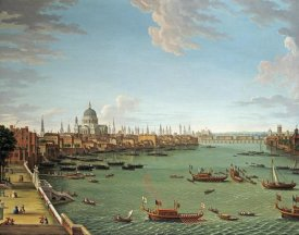 Antonio Joli - The Thames From The Terrace of Somerset House