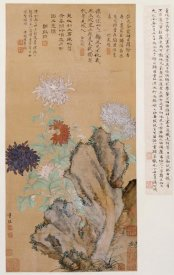 Tong Kai - Flowers and Rocks