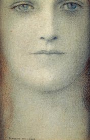 Fernand Khnopff - Study of a Woman