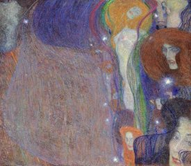 Gustav Klimt - Irrlichter (Will-O'-The Wisps)