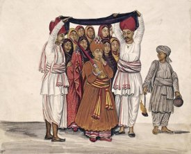 Kutch School - Scenes From a Marriage Ceremony: The Wedding Feast