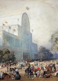 Eugene Louis Lami - The Inauguration of The Crystal Palace