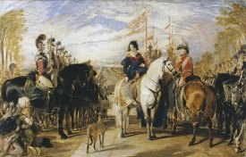 Sir Edwin Landseer - Queen Victoria and The Duke of Wellington