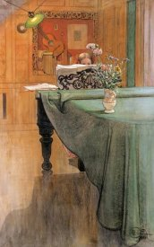 Carl Larsson - Young Girl at a Grand Piano