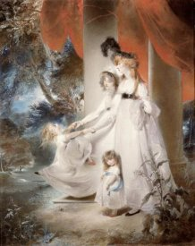 Sir Thomas Lawrence - Portrait of Mrs Ayscoghe Boucherett