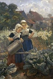 Edmund Louyot - The Little Gardeners