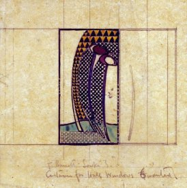 Charles Rennie Mackintosh - Design For Curtains For The Hall Windows