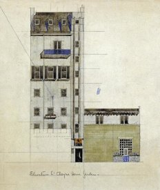 Charles Rennie Mackintosh - London, Elevation of Proposed Studio, 1920