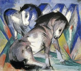 Franz Marc - Two Horses