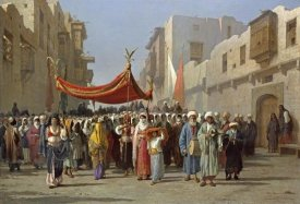 Vincenzo Marinelli - An Arab Wedding Procession