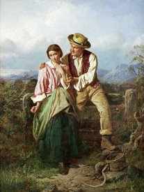 William Henry Midwood - Rustic Courtship