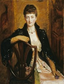 John Everett Millais - Portrait of Alice Sophia Caroline Wortley