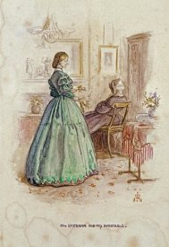 John Everett Millais - Mrs. Gresham and Miss Dunstable