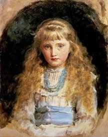 John Everett Millais - Portrait of Beatrice Caird