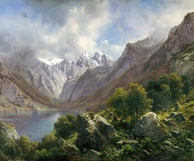 Karl Millner - An Alpine Lake