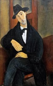 Amedeo Modigliani - Portrait of Mario.(Marios Varvoglios)