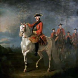 David Morier - An Equestrian Portrait of King George III
