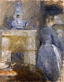 Berthe Morisot - The Dining Room of The Rouart Family
