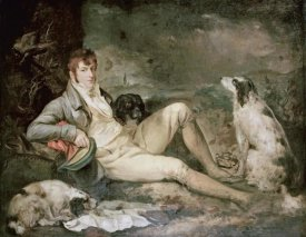 George Morland - Portrait of a Sportsman