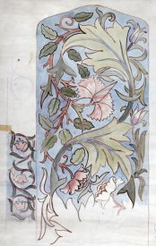 Morris - Design For Mantel Hanging