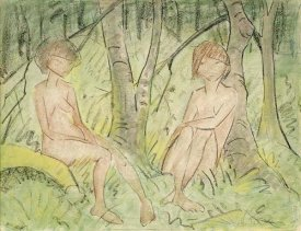 Otto Mueller - Two Women In The Forest