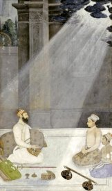 Mughal School - Noble With Attendants