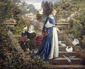 F. Sydney Muschamp - Feeding The Doves