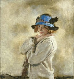 Sir William Orpen - The Blue Hat