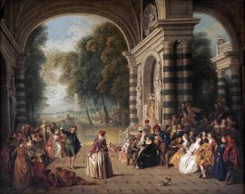 Jean Baptiste Joseph Pater - The Pleasures of The Ball