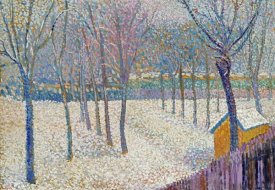 Hippolyte Petitjean - The Orchard In The Snow