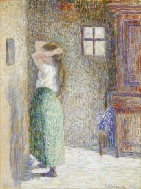 Camille Pissarro - Country Girl at Her Toilet