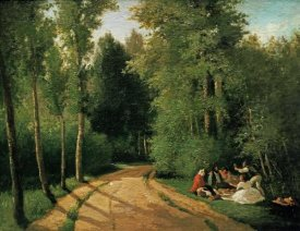 Camille Pissarro - A Picnic at Montmorency