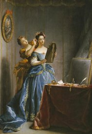 Jean Raoux - A Lady at Her Toilet