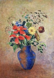 Odilon Redon - The Blue Vase