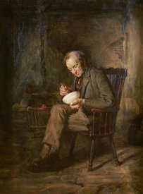 Sir George Reid - A Meal of Porridge