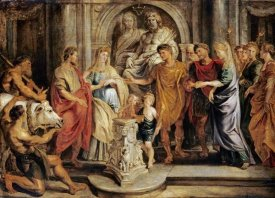 Peter Paul Reubens - The Marriages of Constantine and Fausta