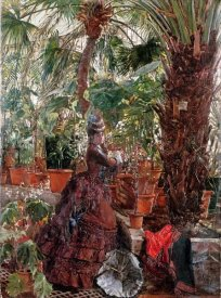 Edouard Frederic Wilhelm Richter - In The Conservatory