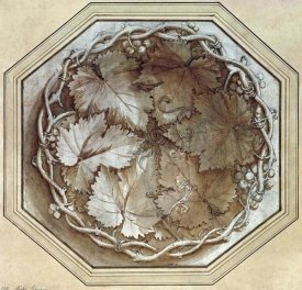 Giulio Il Romano - Design For a Fruit Bowl