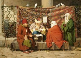 Martinus Rorbye - Notary Drawing Up a Marriage Contract, Constantinople