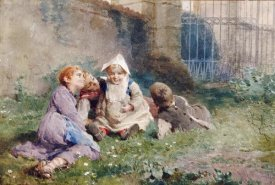 Luigi Rossi - Children In a Garden