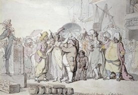 Thomas Rowlandson - A Sale of English Beauties
