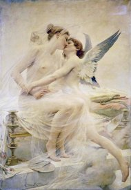 Lionel Noel Royer - Cupid and Psyche