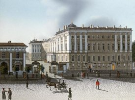 Russian School - Views of St. Petersburg