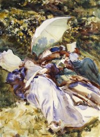 John Singer Sargent - The Green Parasol