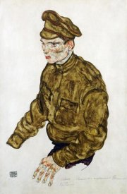 Egon Schiele - Russian Prisioner of War