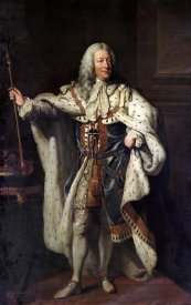 John Shackleton - Portrait of King George II