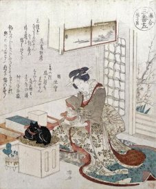 Ryuryukyo Shinsai - A Girl With Two Cats