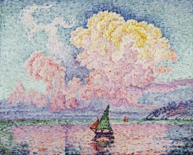 Paul Signac - Pink Clouds, Antibes
