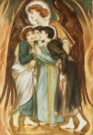 Simeon Solomon - A Protecting Angel