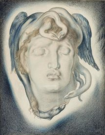 Simeon Solomon - The Head of Medusa